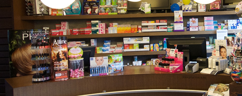 Pharmacie interieur